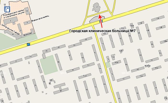 Адреса всех больниц саратова на карте саратова