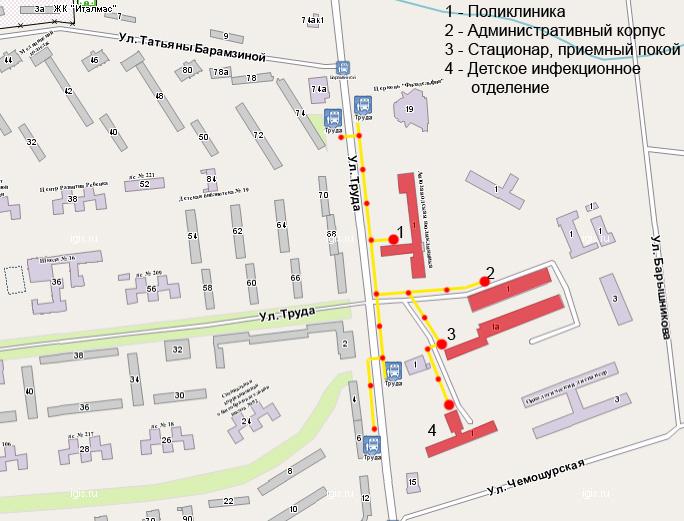 Больница 67 москва как проехать общественным транспортом